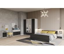 Спальня Соня Світ меблів антрацит аляска