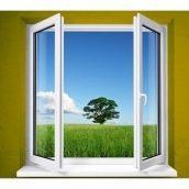 Штульповое алюминиевое окно