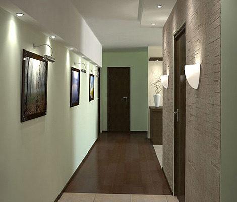 Дизайн передпокою коридору