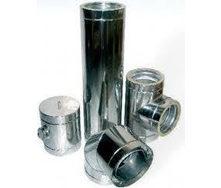 Труба для димоходу з нержавіючої сталі 430 110x0,6 мм