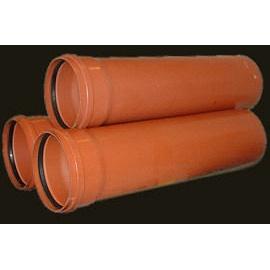 Канализационная труба из поливинилхлорида