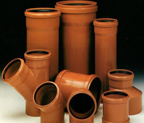 Комплектуючі для пластикової каналізації