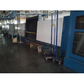 Стеклопакетная линия Bystronic 1600*4000 с газовым тандемным прессом