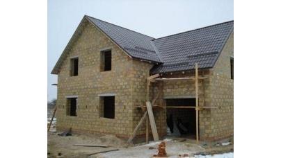 Будівництво будинку з черепашнику