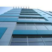 Панель алюмінієва композитна Alumin 1,25х5,8 м синя