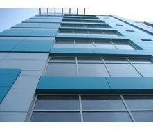 Панель алюминиевая композитная Alumin 1,25х5,8 м синяя