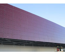 Панель алюминиевая композитная Alumin 1,25х5,8 м вишня