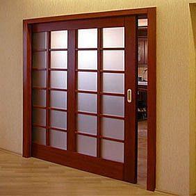 как установить раздвижные межкомнатные двери Ibudua