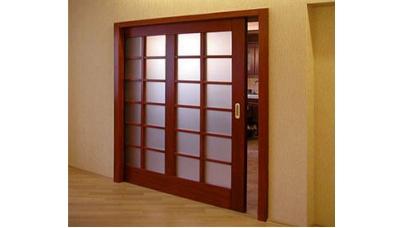 Як встановити розсувні міжкімнатні двері?