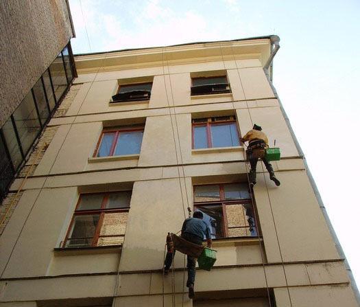 Фарбування фасаду