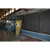 Склопакетна лінія Lisec 2000*3500 мм з роботом герметизації