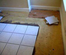 Підлога з керамічної плитки