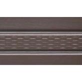 Панель Соффит перфорированная Мелкая текстура 3500x305 мм коричневая