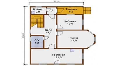 Планування внутрішніх приміщень будинку