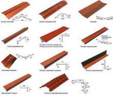 Спецпланки для кровли из металлочерепицы