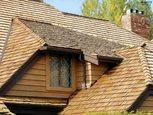 Деревянная крыша дранка