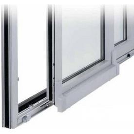 Двери с портальным механизмом из металлопластикового профиля KBE