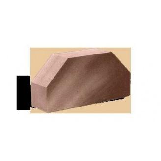 Кирпич облицовочный Гладкий двухугловой Литос 250*120*65 мм