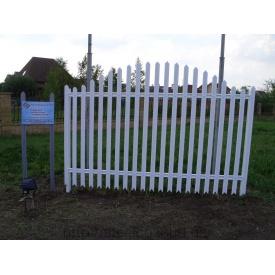 Забор из холоднокатаной стали 1,5 мм