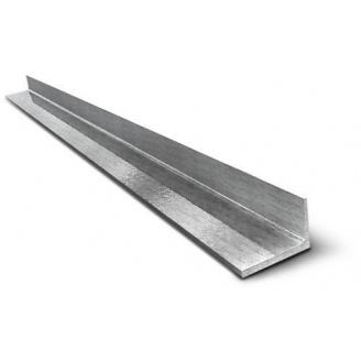 Уголок равнополочный 25*25*3 мм 6 м