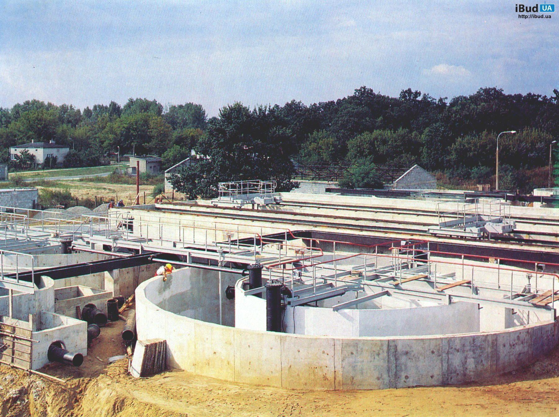 Гідроізоляція очисних споруд