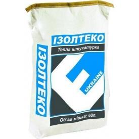 Утепляющая штукатурка Изолтеко 0,06 м3