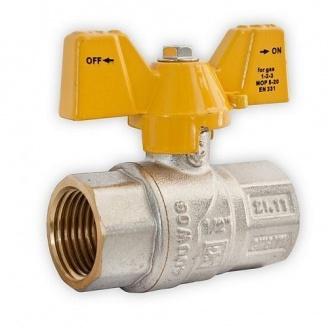 Кран шаровый усиленный для газа Santan ВВ ЖБ 1/2''