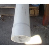 Труба для скважин обсадная пластиковая 110x5 мм