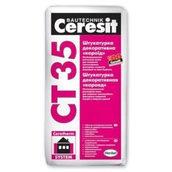 Штукатурка декоративная Ceresit CT35 короед 25 кг