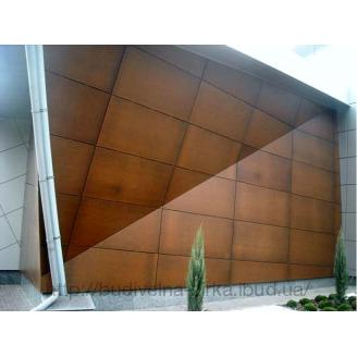 Вентильована фасадна HPL панель FunderMax Exterior 4100*1850 мм