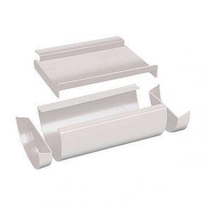 Соединитель желоба расширительный Plasmto 125 мм