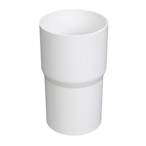 Соединитель водосточной трубы Plastmo 90 мм