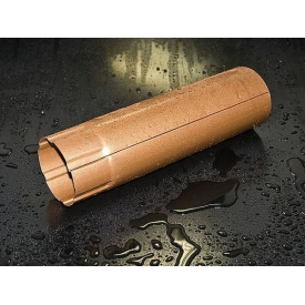 Металлический водосток Struga коричневый