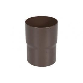 З'єднувач труби АКВАСИСТЕМ 100 мм металевий