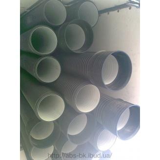 Труба дренажная К2-Дренаж двухслойная SN8 160 мм 6 м