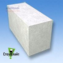Газобетон стіновий гладкий Stonelight 200*600 мм