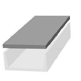 Плита перекриття каналів ПТП 16-12 1590*1190*120 мм