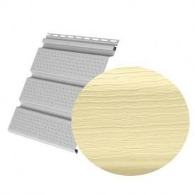 Софіт Royal Europa Royal Soffit yellow перфорований 3660х340 мм