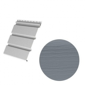 Сайдинг вініловий Royal Europa Royal Soffit graphite 3660х340 мм