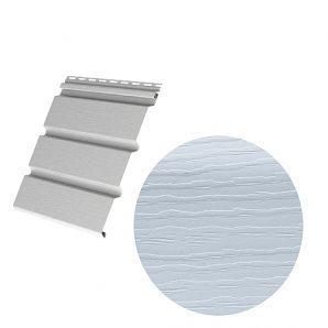 Виниловый сайдинг Royal Europa Royal Soffit blue gray 3660х340 мм