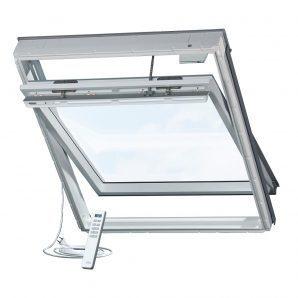 Мансардне вікно VELUX GGU 0073 INTEGRA M08 дерев'яне 78х140 см