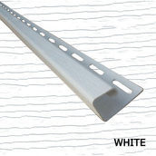 Планка боковая J 1/2 Royal Europa white 3810 мм