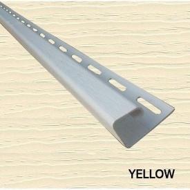 Планка боковая J 1/2 Royal Europa yellow 3810 мм