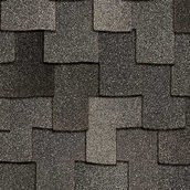 Битумная черепица Owens Corning Woodmoor AR 1016х362 мм Granite