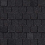 Битумная черепица Owens Corning Berkshire AR 966х476 мм Canterbury Black