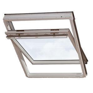 Мансардное окно VELUX GGU 0073 F04 деревянное 66х98 см
