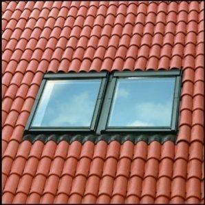 Комбінований комір VELUX EKW 0021 FК06 для мансардних вікон 66х118 см