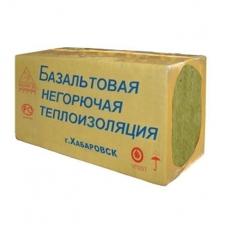 Теплоизоляционная плита ТехноНИКОЛЬ БАЗАЛИТ ПТ-175 1000x500 мм