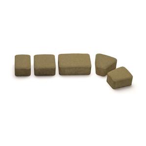 Тротуарная плитка Авеню Римский Камень К-6 оливка 109х118х60 мм