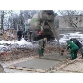 Зимовий бетон П4 В55 F200 W10 М700 З ТМ «Бетон від Ковальської»